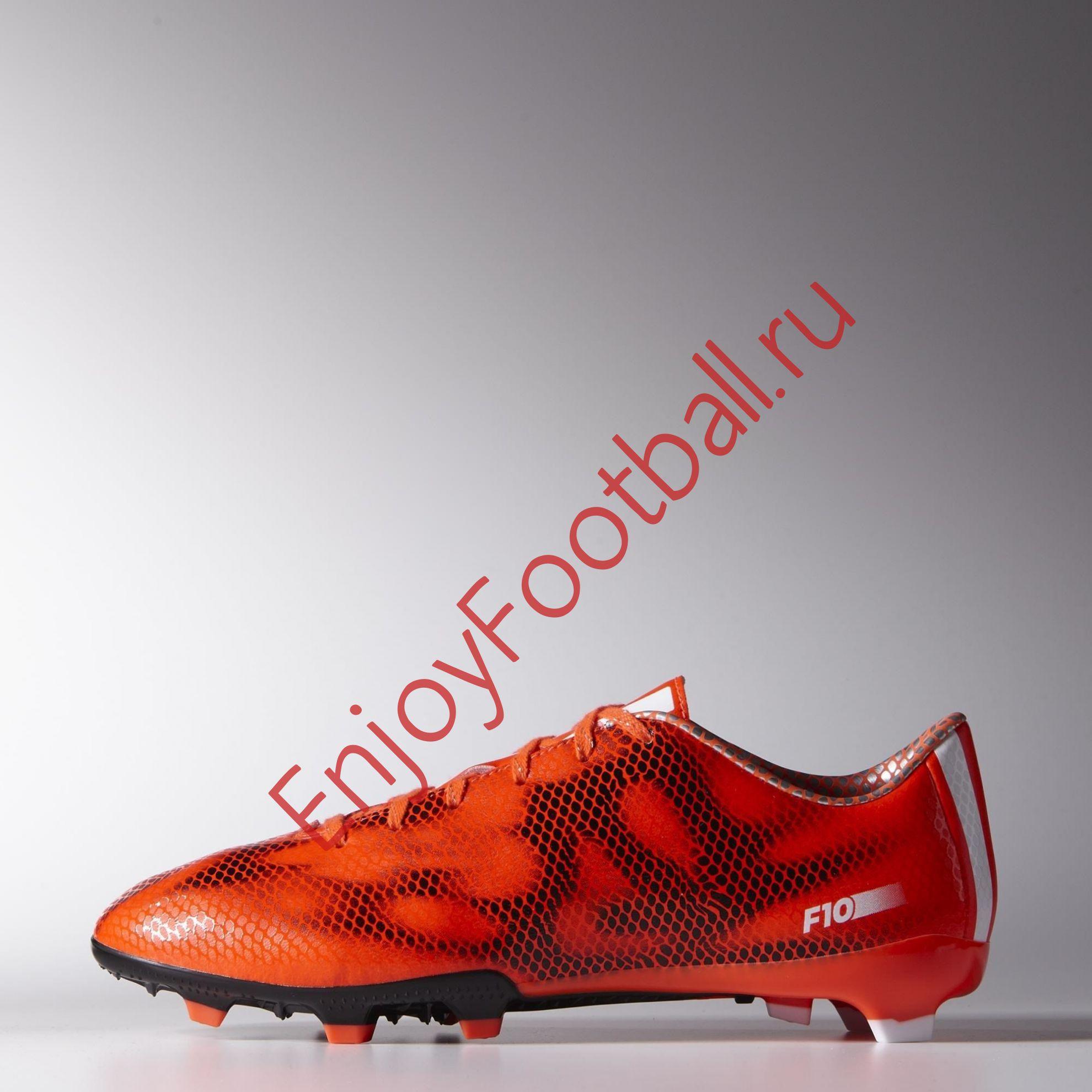 Бутсы ADIDAS F10 FG B34859 купить в интернет-магазине EnjoyFootball ... 13d0ca22c1108