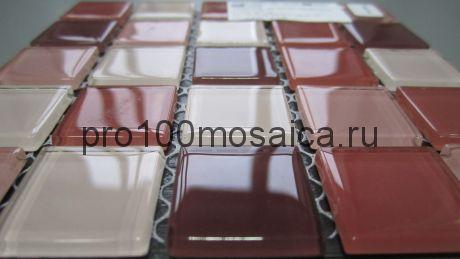 Plum mix  Мозаика серия CRYSTAL, размер, мм: 300*300