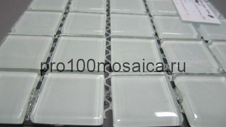 White glass Мозаика серия CRYSTAL,  размер, мм: 300*300