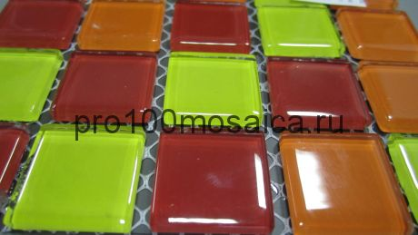 Fruit mix   Мозаика серия CRYSTAL, размер, мм: 300*300