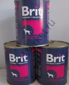 Brit консервы ж/б 850гр. (в ассортименте)