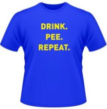 drink pee repeat