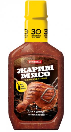КОСТРОВОК Маринад 300г д/курицы в пласт. бут.