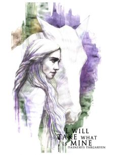 Daenerys with horse