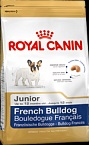 Royal Canin FRENCH BULLDOG JUNIOR для щенков французского бульдога (до 12 мес.) 10 кг.
