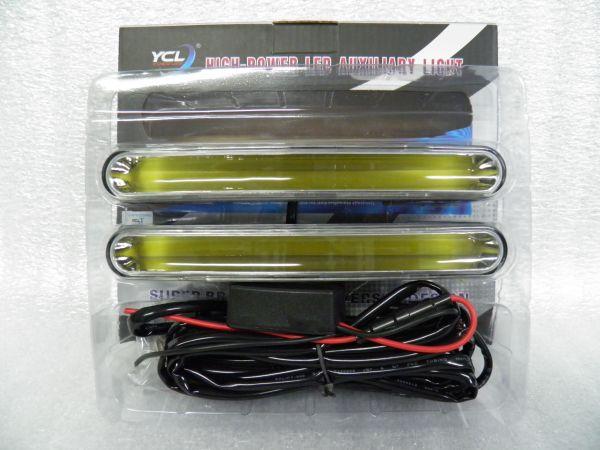 Дневные ходовые огни с указателем поворота 190 мм СОВ LED комплект