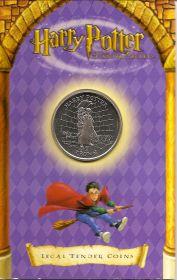 Гарри Поттер  1 крона  Остров Мэн 2002  (буклет)