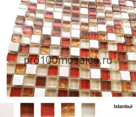 Istanbul Мозаика серия Naturelle 15x15, размер, мм: 305*305*4 (Caramelle)