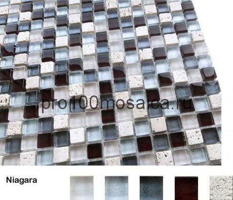 Niagara Мозаика серия Naturelle 15x15x4, размер, мм: 305*305 (Caramelle)