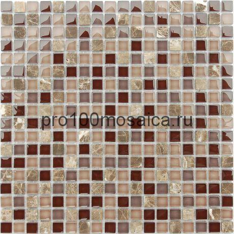 Qaradag Мозаика серия Naturelle 15x15x4, размер, мм: 305*305 (Caramelle)