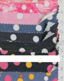 модные рисунки  джинсов ткани