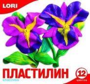 """Пластилин """"Классика"""", 12 цветов без европодвеса (арт. Пл-007) (10183)"""