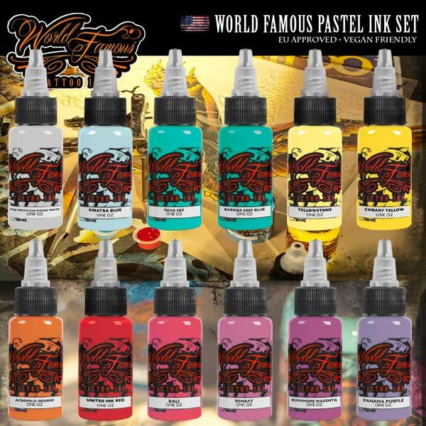 WORLD FAMOUS PASTEL INK SET