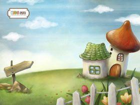 """Фон стена """"Gnome"""""""