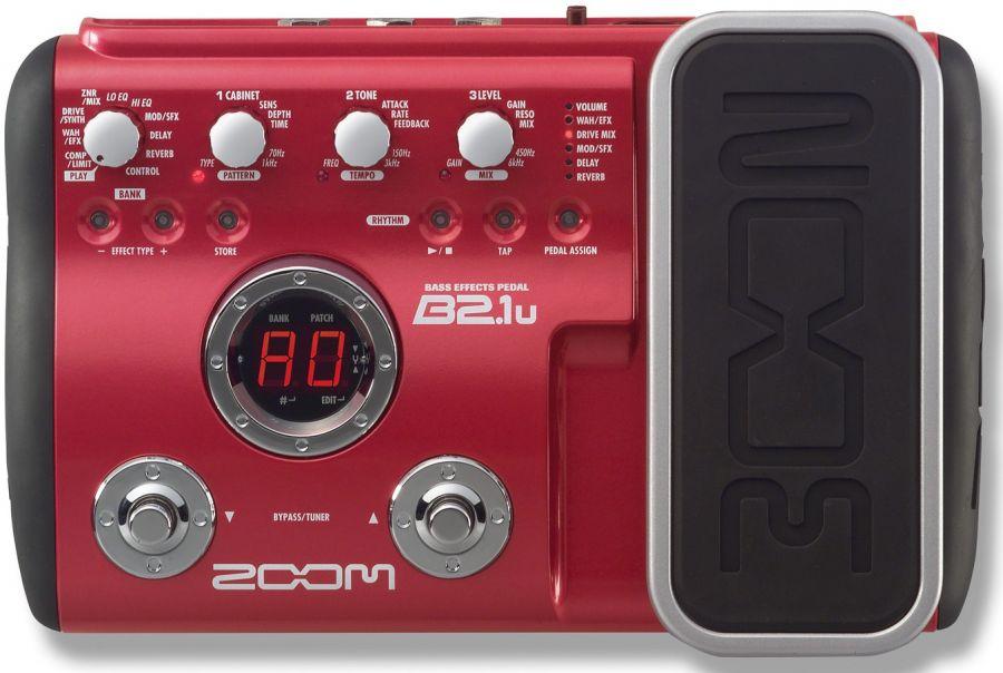 ZOOM B-2.1u Процессор для бас-гитары