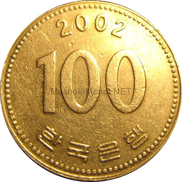 Южная Корея 100 вон 1984 г.