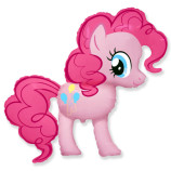 """Пони розовая, 14""""/36 см"""