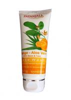 Гель для умывания Алое вера Апельсин Патанджали Аюрведа (Divya Patanjali Aloe Orange Facewash)