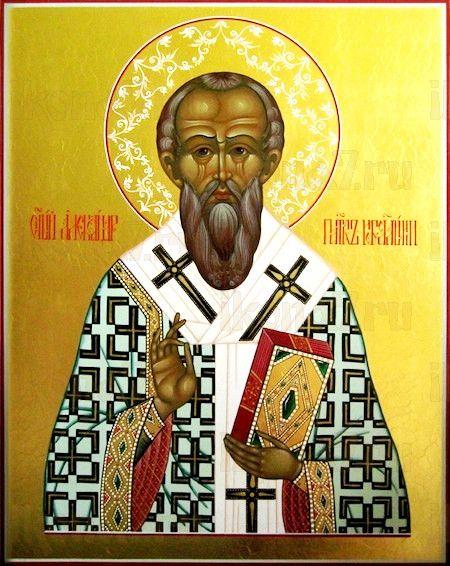 Икона Александр Иерусалимский (рукописная)