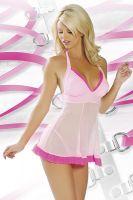 Розовая сорочка
