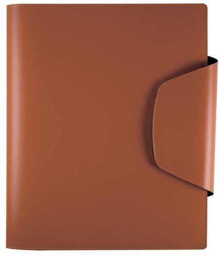 Папка с блоком для записи Lediberg  Open Design 230х295, коричневый, 81258424