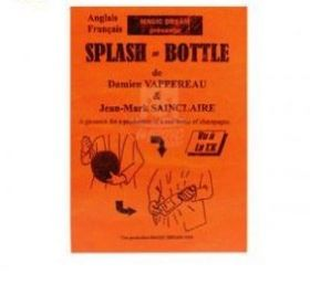 Появление бутылки из шара - Splash bottle
