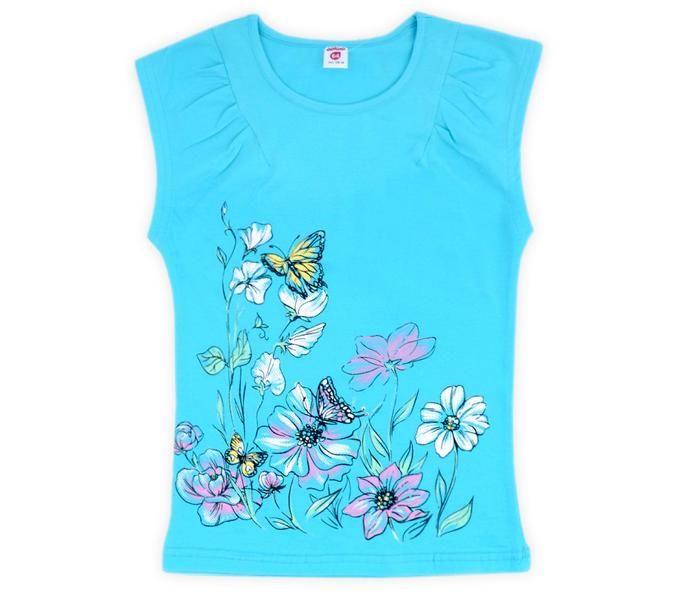 Блуза для девочки Полянка