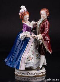 Танцующая пара, Scheibe-Alsbach, Германия, вт. пол. 20 в