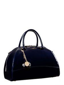 Синяя сумка Eleganzza