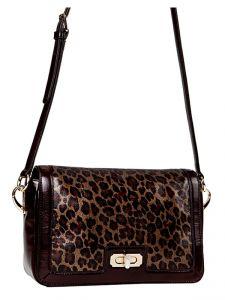 Леопардовая сумка через плечо