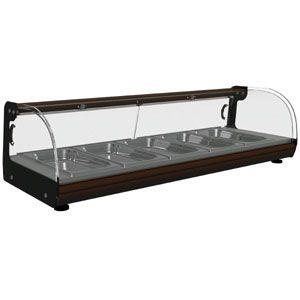 Тепловая барная витрина Carboma Вт-1,0 (5 гастроемкостей)