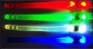 Светящийся браслет  (3 режима, 22 см)