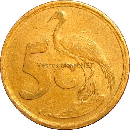 ЮАР 5 центов 1996 г.