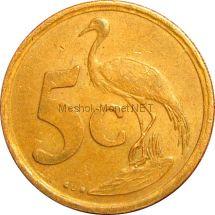 ЮАР 5 центов 1999 г.