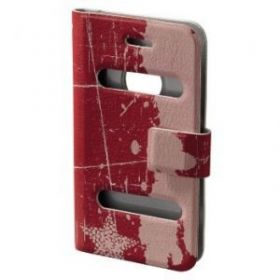 "Чехол ""Hama H-103553""-книжка Diary Case для Apple iPhone 4/4S красный"