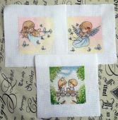 Схема для вышивки крестом Нежные иллюстрации - Флейта. Отшив.