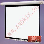 """Экран с электроприводом Draper Salara 254/100"""" 152x203 HCG (3:4)"""