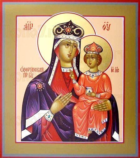 Озерянская икона БМ (рукописная икона)