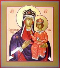 Озерянская икона Божией Матери (рукописная)