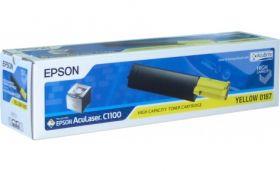 Тонер-картридж различных цветов для Epson AcuLaser C1100, CX11N, CX11NF