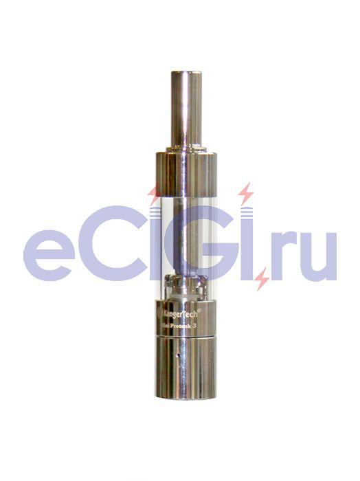 Клиромайзер Kanger MiniProtank-3 1,5 мл (тип eGo, две спирали)