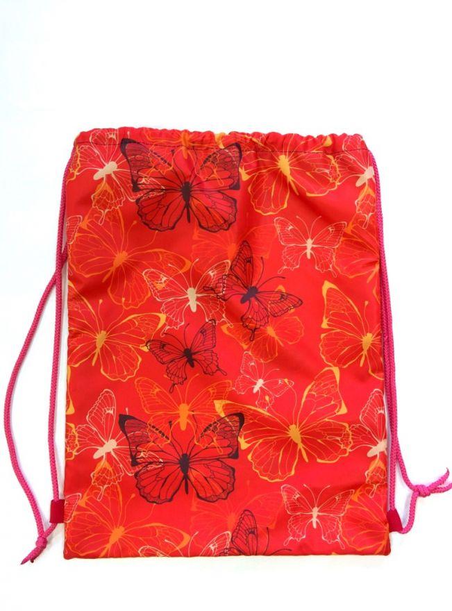 Мешок для обуви  ПодЪполье Scarlet butterfly малый