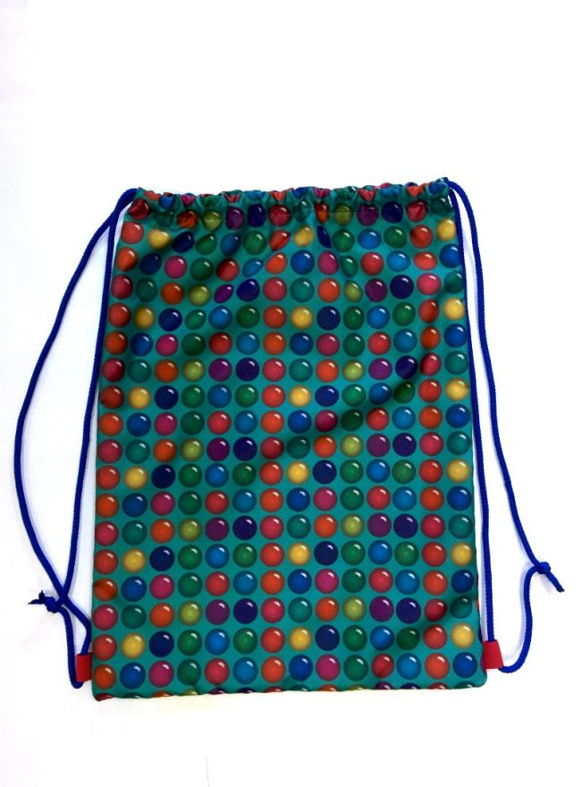 Мешок для обуви  ПодЪполье Colored dots малый