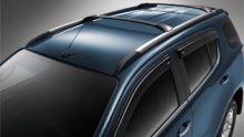 Багажник на рейлинги, GM, черный