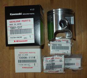 Ремкомплект для ремонта двигателя Kawasaki KDX200