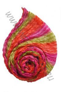 Разноцветный шёлковый шарф / парео (СПб)
