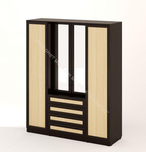 """Шкаф с комодом """"Рамочный"""" с зеркалами"""