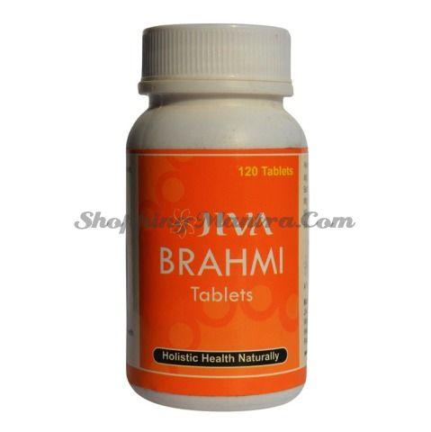 Брами (Готу Кола) тоник для мозга Джива Аюрведа / Jiva Ayurveda Brahmi Tablets