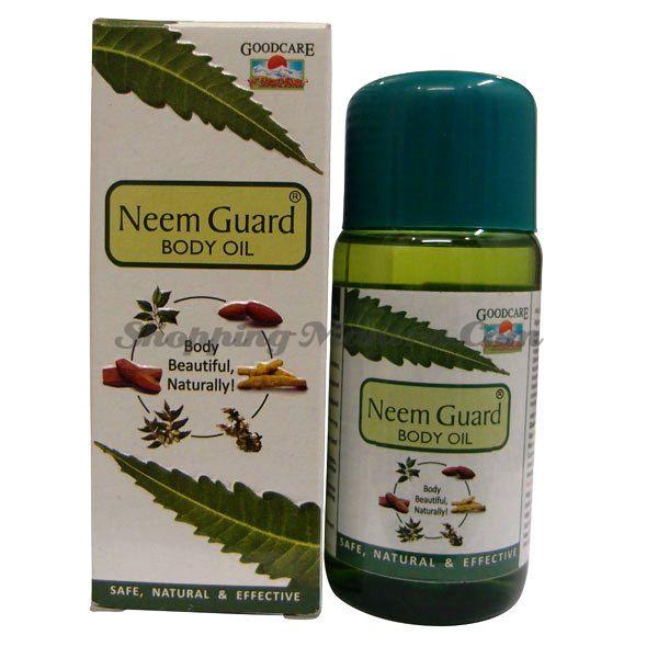 Масло Ним для здоровья кожи GoodCare Pharma Neem Guard Body Oil