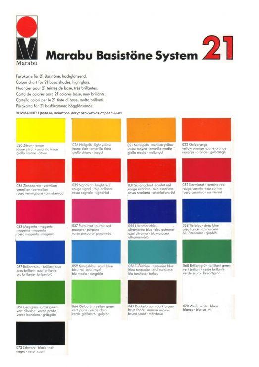 Краска Marabu Marapol PY